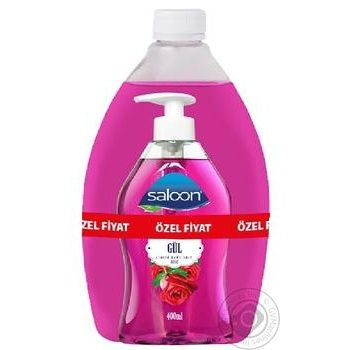 Мыло жидкое Saloon Роза 400+750мл