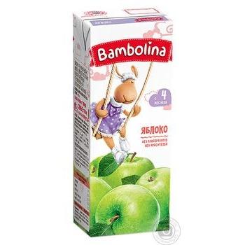 Сік Bambolina Яблуко 200мл