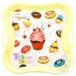 Tigres Sweet Party Dish Tray with Iron-on Stickers Toy