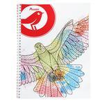 Auchan Notebook on Spiral A4 60 sheets in assortment