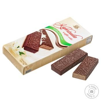 Biscuit-Chocolate Kaprizulia With Fructose Waffle Cake 210g - buy, prices for Furshet - image 1