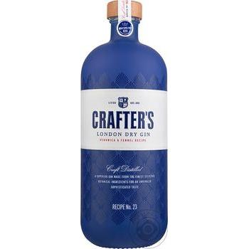 Джин Crafter's London Dry 43% 0,7л
