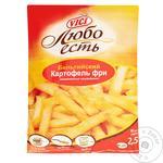 Картофель фри Vici Любо есть Бельгийский замороженный 2,5кг