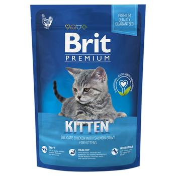 Brit Premium Dry food with chicken for kittens 300g - buy, prices for Auchan - photo 1