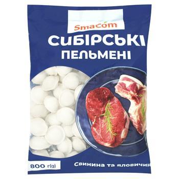 Пельмени SmaCom Сибирские 800г - купить, цены на ЕКО Маркет - фото 1