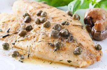 Риба по-французьки у білому вині