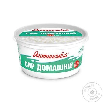 Yagotynsky Homemade Low-Fat Cottage Cheese 0,6% 370g - buy, prices for CityMarket - photo 1