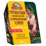 Каша гречана La Pasta з мисливським соусом та фрикадельками зі свинини 330г