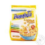 Хлопья кукурузные Витьба Золотистые без сахара 330г - купить, цены на Фуршет - фото 2