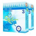 Презервативы Freestyles Ultra Light 3шт