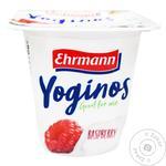 Йогурт Ehrmann Yoginos Малина 0,1% 100г