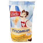 Мороженое Varto Пломбир с ароматом ванили в вафельном стаканчике 70г
