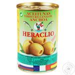 Оливки Херакліо 300 г ж/б Анчоус /160 (Іспанія)