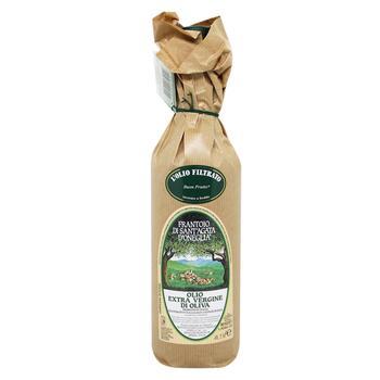 Масло оливковое Frantoio di Sant'Agata Buon Frutto Extra Virgin нерафинированное 750мл - купить, цены на Восторг - фото 1