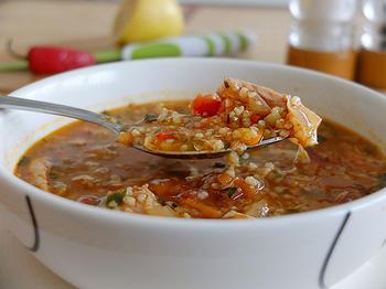 Курячий суп по-марокканські