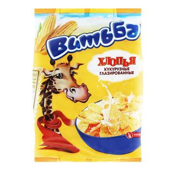 Пластівці кукурудзяні Витьба глазуровані 330г - купити, ціни на Таврія В - фото 1