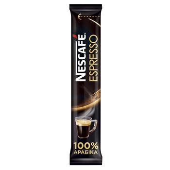 Кофе NESCAFÉ® Espresso растворимый стик 1,8г - купить, цены на Восторг - фото 1