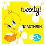 Пластилін Cool For School Tweety 12 кольорів 240г