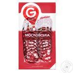 Moscow smoked sausage Globino sliced 80g - buy, prices for Furshet - image 4