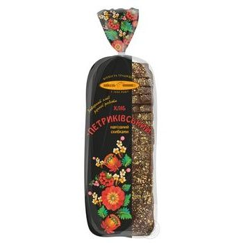 Хліб Київхліб Петриківський нарізка 500г - купити, ціни на Фуршет - фото 1
