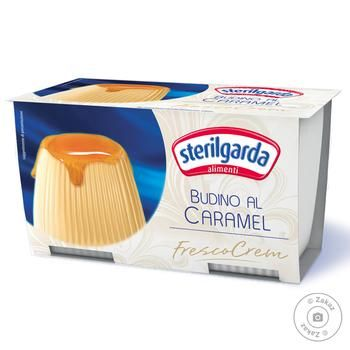 Sterilgarda pudding caramel 200g - buy, prices for Novus - image 1