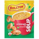 Суп Ролтон курячий з крутонами саше 17г
