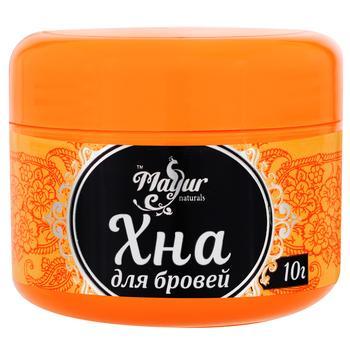 Хна порошковая Mayur для бровей черная 10г - купить, цены на Varus - фото 1