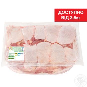 Мясо бедра Наша Ряба цыпленка-бройлера охлажденное (от 3,6кг вакуумная упаковка)