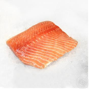 Филе лосося охлажденное