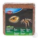 Наповнювач для тераріуму Trixie 76152 Пресований кокосовий грунт 2л