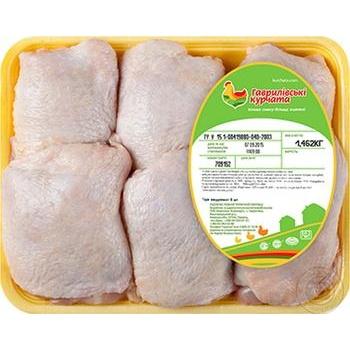 Бедро цыплят-бройлеров Гавриловские цыплята полуфабрикат охлажденный