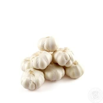 Vegetables garlic fresh - buy, prices for Auchan - image 1