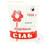 Соль Артемсоль поваренная йодированная 1кг