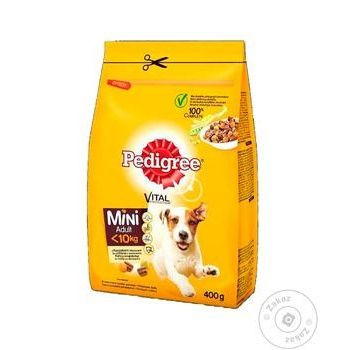 Dry dog food Pedigree Mini with poultry and vegetables 400g - buy, prices for Auchan - photo 2