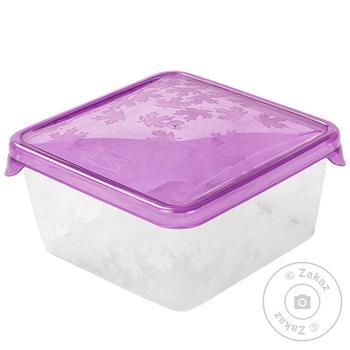 Емкость для морозилки BranQ Rukkola квадратная 0,45л шт - купить, цены на Фуршет - фото 2