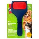 Topsi pet brush soft one-sided