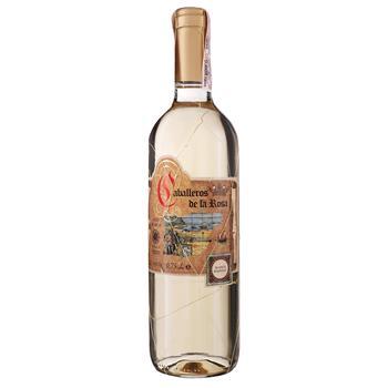 Вино Lozano Caballeros de la Rosa Blanco Semidulce белое полусладкое 12% 0,75л