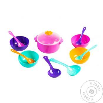Набір посуду столовий Ромашка 12 ел - купити, ціни на МегаМаркет - фото 1