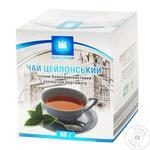 Чай Еврогруп 80 г карт. чорний цейлонський байховий бергамот