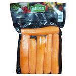 Морква Славянка свіжа очищена мита ціла 500г