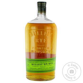 Віскі Bulleit 95 RYE 45% 0,7л - купити, ціни на CітіМаркет - фото 1