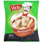 Вареники Varto з капустою заморожені 400г