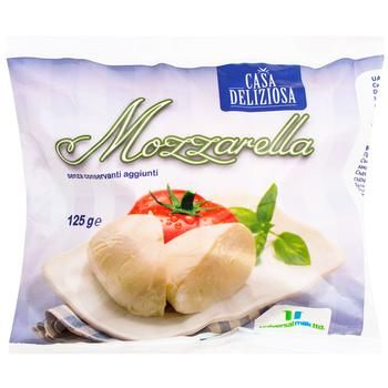 Casa Deliziosa pickled mozzarella cheese 45% 125g