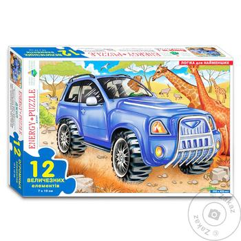 Kyiv Toy Factory Jeep Safari Puzzles 12 Elements - buy, prices for Tavria V - image 1