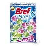 Bref blocks for the toilet Change the flavor of Apple-Lotus Duopack 100g