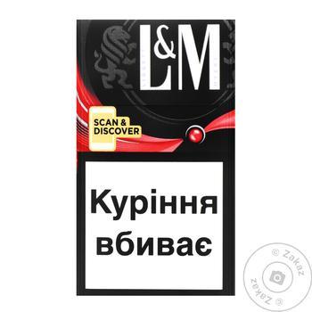 Сигареты L&M Loft Scan&Discover - купить, цены на Таврия В - фото 1