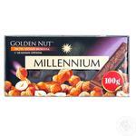 Millenium with whole walnuts dark chocolate 90g