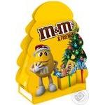 Набор подарочный M&M's & Friends Новогодняя елка 105г - купить, цены на Novus - фото 1