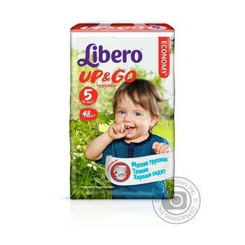 Подгузники Libero Up&Go 5 10-14кг 48шт