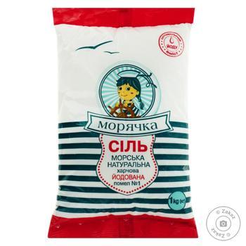 Moriachka Iodinated Salt - buy, prices for MegaMarket - image 2